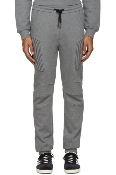 Pierre Balmain - Grey Biker Lounge Pants