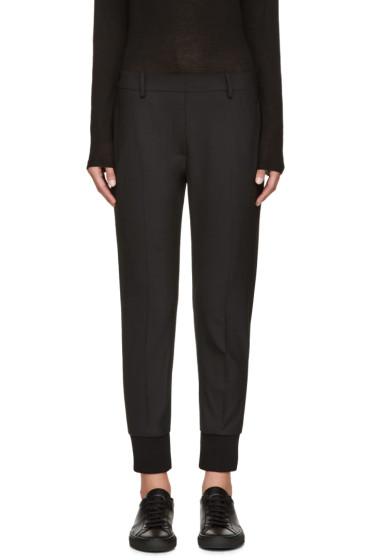 Neil Barrett - Black Stretch-Wool Trousers