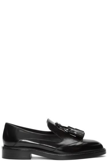 Burberry - Black Halsmoor Tassel Loafers