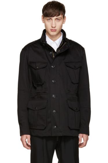 Burberry - Black Smithers Coat