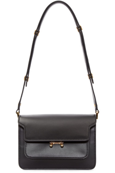 Marni - Black Small Trunk Bag