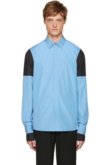 Marni - Blue Layered Sleeve Shirt
