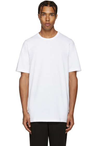 Marni - White Asymmetric Pocket T-Shirt
