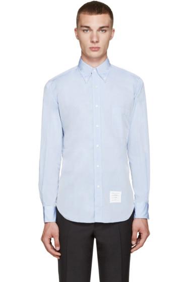 Thom Browne - Blue Classic Oxford  Shirt