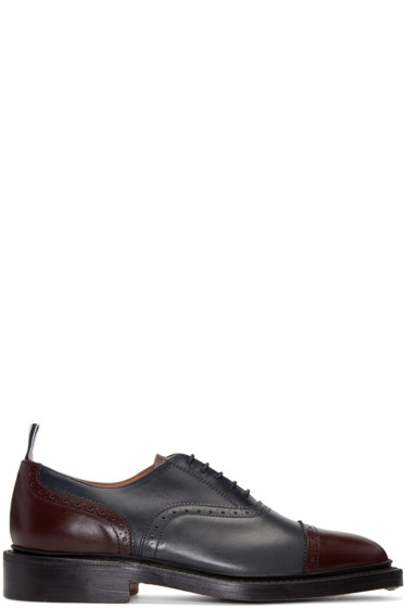 Thom Browne - Multicolor Toe Cap Brogues