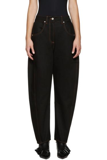 Kenzo - Black Oversized High-Rise Jeans
