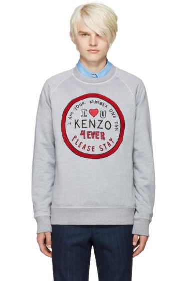 Kenzo - Grey #1 Fan Pullover