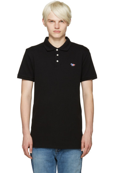 Maison Kitsuné - Black Fox Polo