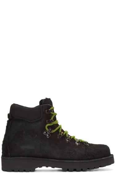 Diemme - Black Shaggy Mohawk Roccia Boots