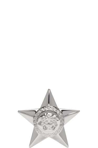 Versace - Silver Star Medallion Ring