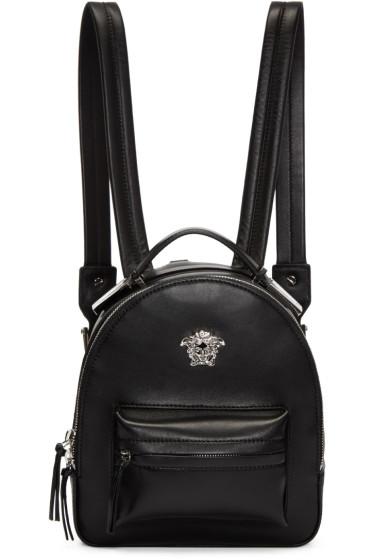 Versace - Black Medusa Mini Backpack