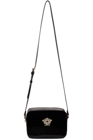 Versace - Black Patent Medusa Bag