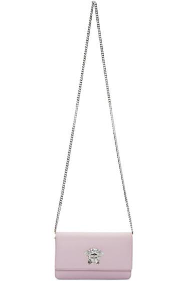 Versace - Pink Small Medusa Shoulder Bag