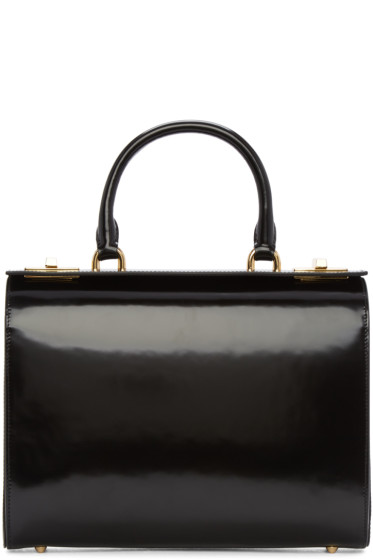 Simone Rocha - Black Top Handle Box Bag