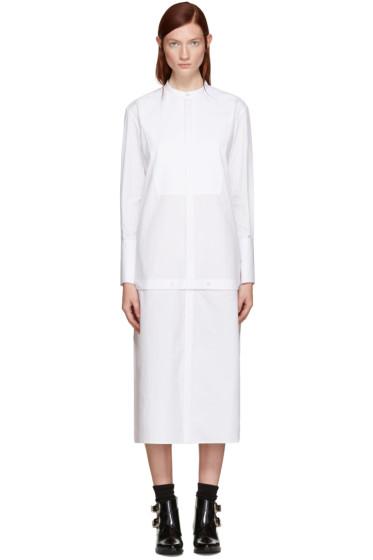Undercover - White Long Shirt Dress