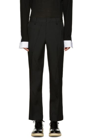 Undercover - Black Accent Seam Trousers