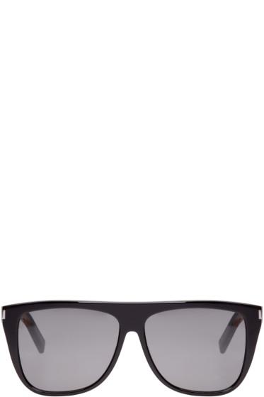 Saint Laurent - Black SL01 Sunglasses