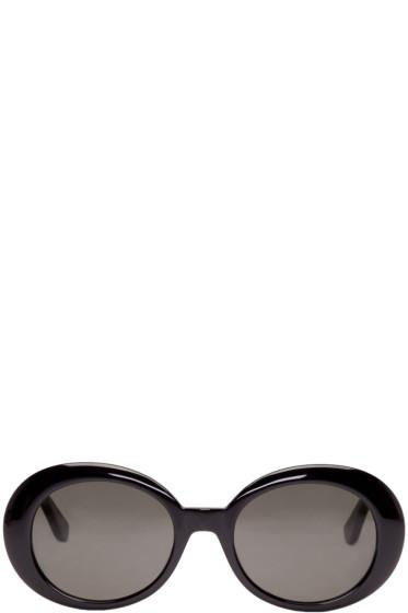 Saint Laurent - Black Oval SL 98 California Sunglasses
