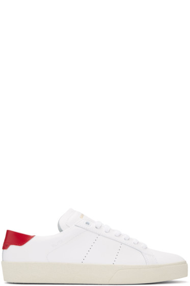 Saint Laurent - White Court Classic Sneakers
