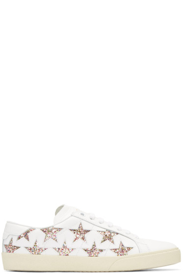 Saint Laurent - White Star Court Classic Sneakers