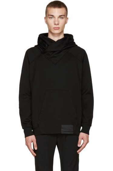 Julius - Black French Terry Hoodie