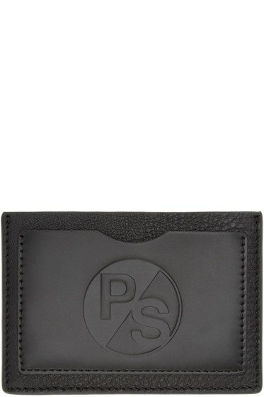PS by Paul Smith - Black Embossed Card Holder