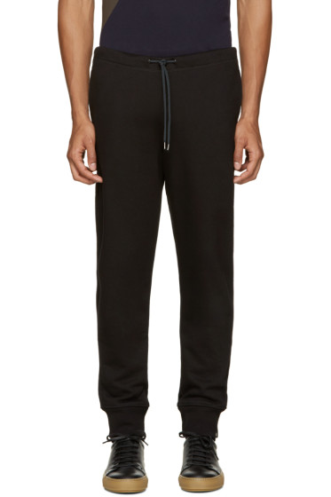 PS by Paul Smith - Black French Terry Lounge Pants