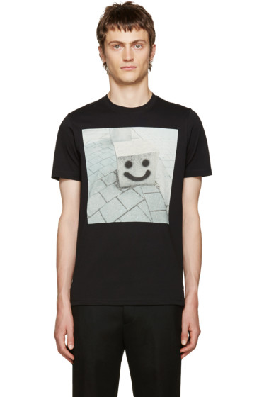 PS by Paul Smith - Black Happy Face Box T-Shirt