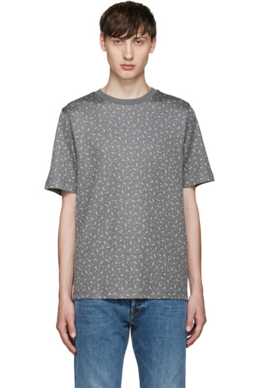 PS by Paul Smith - Grey Paisley T-Shirt
