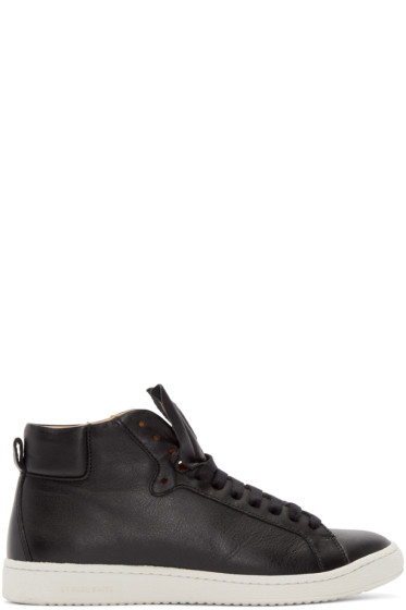 PS by Paul Smith - Black Kim High-Top Sneakers