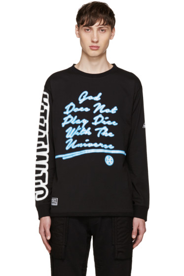 KTZ - Black 'God Does Not Play Dice' Pullover