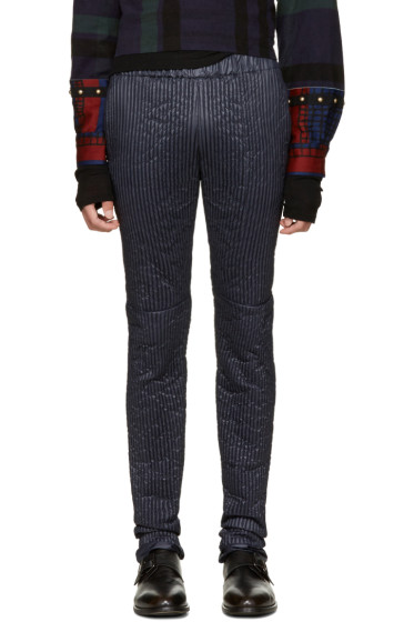 Sacai - Navy Quilted Lounge Pants