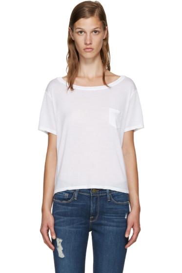 Frame Denim - White Le Boxy T-Shirt