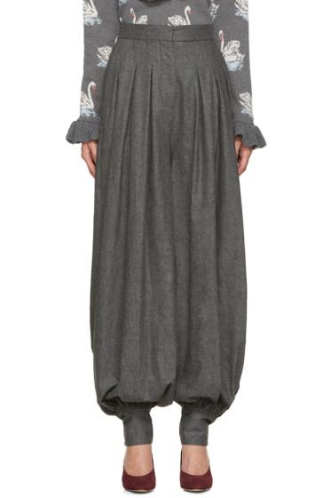 Stella McCartney - Grey Wool Giulietta Trousers