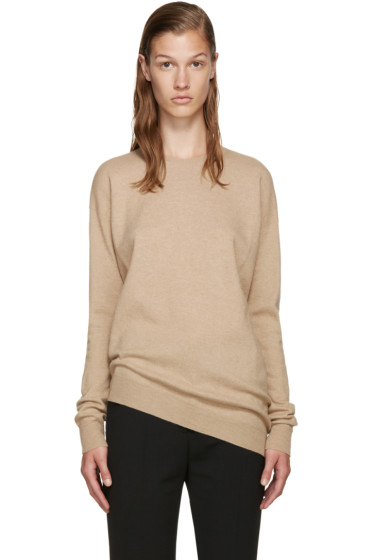 Stella McCartney - Beige Asymmetric Sweater