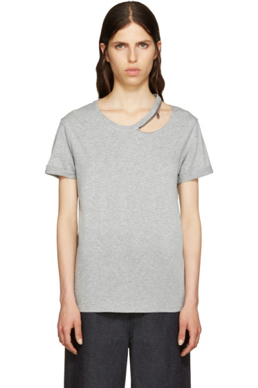 Stella McCartney - Grey Falabella T-Shirt