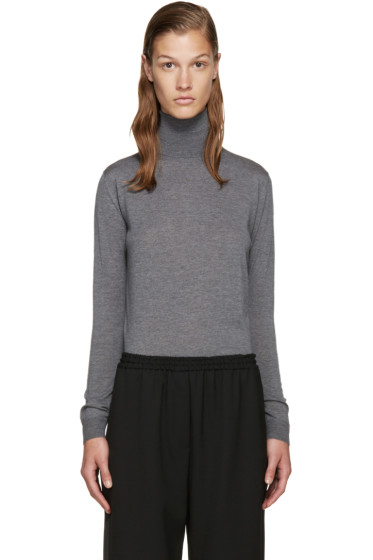Stella McCartney - Grey Wool Turtleneck