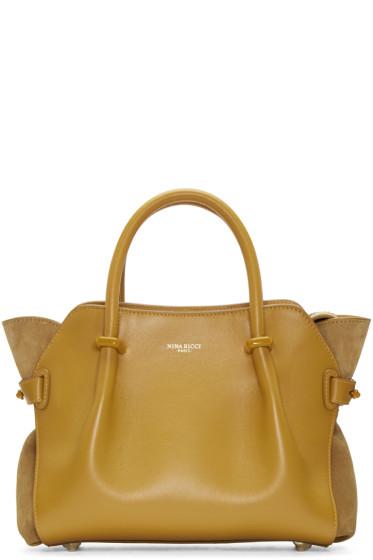Nina Ricci - Yellow Extra Small Marche Bag