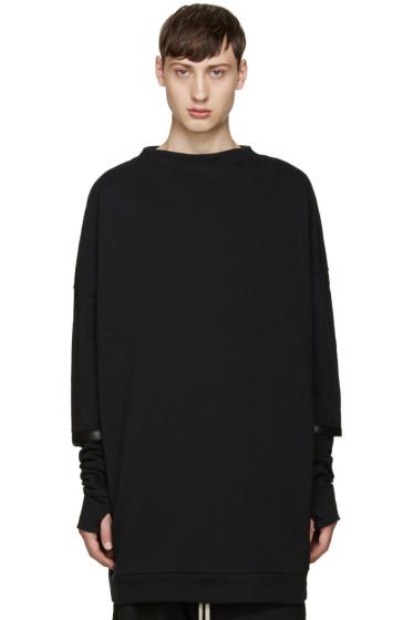 Thamanyah - Black Layered Pullover
