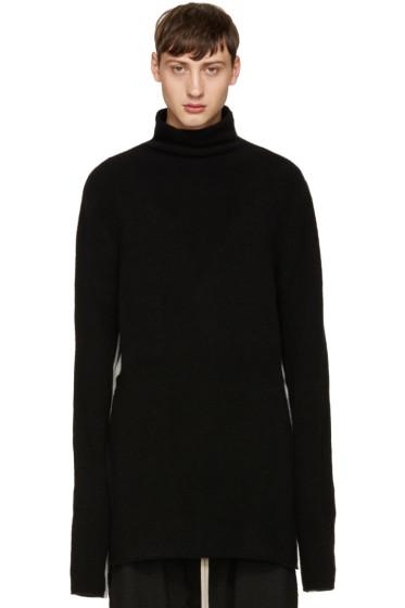 Thamanyah - Black & White High Neck Sweater