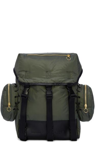 Tim Coppens - Khaki Nylon Backpack