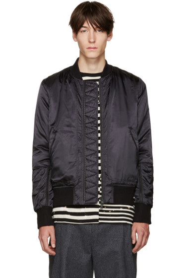 Tim Coppens - Black Bomber Jacket