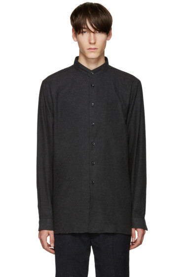 Naked & Famous Denim - Grey Soft Yarn Shirt
