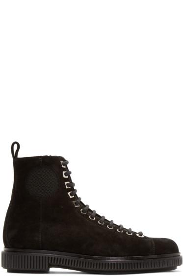 Jimmy Choo - Black Suede Kurt Boots