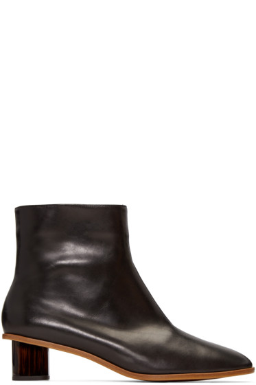 Robert Clergerie - Black Preen Ankle Boots