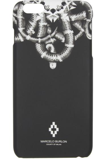 Marcelo Burlon County of Milan - Black Aconcagua iPhone 6/6S Plus Case