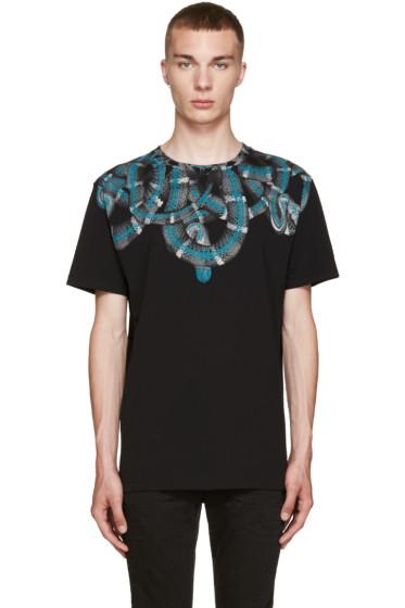 Marcelo Burlon County of Milan - Black Aconcagua T-Shirt