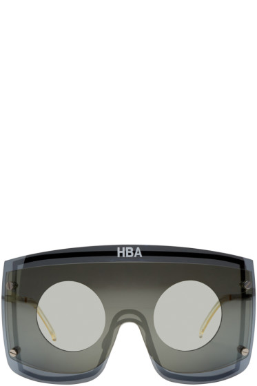 Hood by Air - Silver Gentle Monster Edition Marz Sunglasses