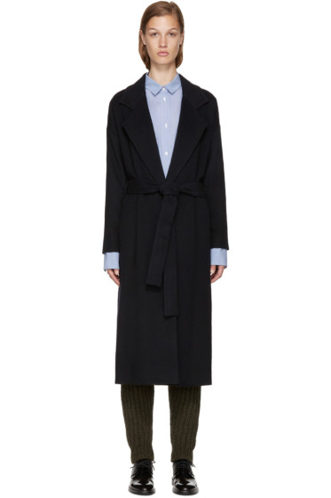 Each x Other - Navy Wool Coat
