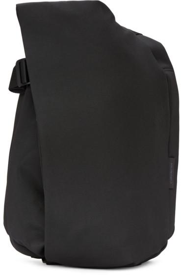 Côte & Ciel - Black Eco Yarn Medium Isar Backpack
